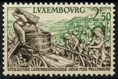 Luxembourg 1958 SG#644 Moselle Wine Industry MNH #D67984