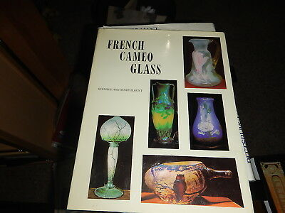 Antique reference book French Cameo Glass by Berniece and Harry Blount