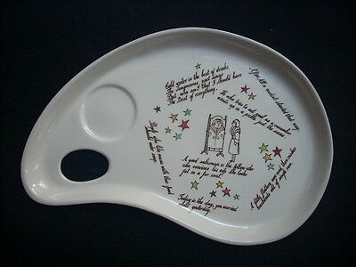 Clarice Cliff Palette Tray