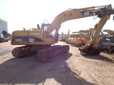 Railroad Maintenance Of Way Mow Cat Caterpillar 320C-L Track Excavator Thumb