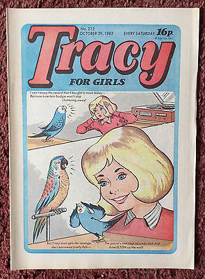 TRACY COMIC. No. 216. 29 OCTOBER 1983. VFN+. Unsold Newsagents Stock.