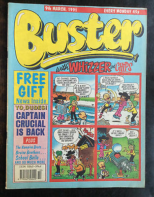 Buster Comic  9 March 1991. Fn+/vfn.  (1