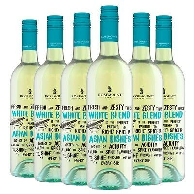 Rosemount Sem Sauvignon Blanc Asian Meal Matchers 2016 (6 x 750mL), SE AUS.