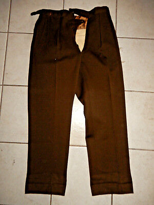 Original Wwii Us Army Women's Wac Officers Trousers 28 X 28