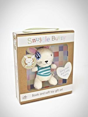 Snuggle Bunny Set...Soft Cuddly Bunny & Bunny's Bedtime Book  by Little Learners