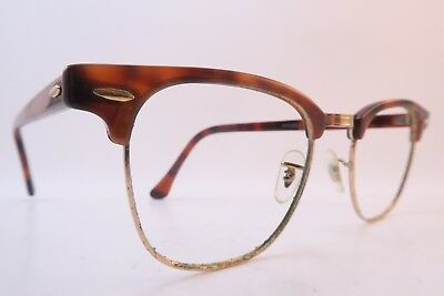 Vintage B&L Ray Ban Clubmaster eyeglasses frames made in the USA