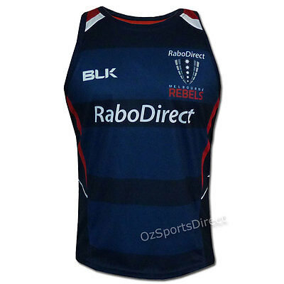 Melbourne Rebels 2015 Training Singlet SMALL *SALE PRICE*