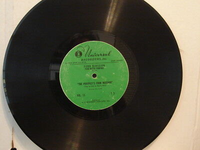 """Ford Motor Company Advertising Record """"1955 Ford Light Duty Truck"""" 12in.33rpm"""