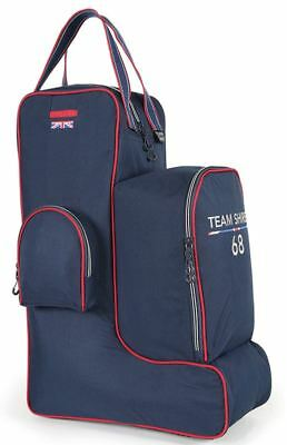 Shires Team Riding Boot, Hat and Whip Bags - Navy - BN