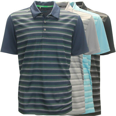 Adidas Golf Men's ClimaCool Competition Stripe Polo Shirt,  Brand NEW