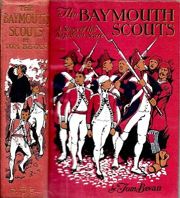 Rare 1910 Era Uk Baymouth Scouts Napoleon Scare Illustrated By Gordon Browne