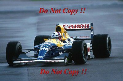 Gil De Ferran Williams FW14B Test Silverstone 1992 Photograph 1