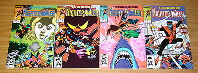 Nightcrawler #1-4 VF/NM complete series - dave cockrum - x-men marvel comics 2 3