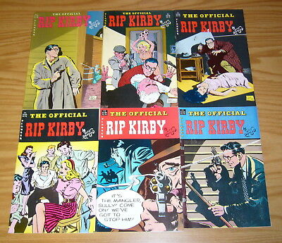 Official Rip Kirby #1-6 FN/VF complete series - alex raymond 2 3 4 5 set lot