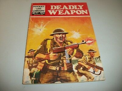 1972 Pocket War Library  comic no. 197