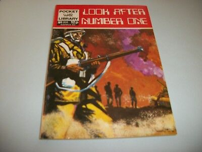 1972 Pocket War Library  comic no. 201
