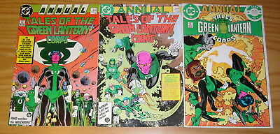 Tales of the Green Lantern Corps Annual #1-3 VF/NM complete series - alan moore