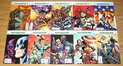 Ultimate Avengers #1-18 VF/NM complete series - mark millar - the ultimates 2 3