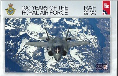 Isle Of Man 2018 100 Years Of The Royal Air Force Booklet Unmounted Mint, Mnh