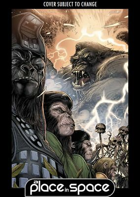 Kong On The Planet Of The Apes #4B - Connecting Variant (Wk08)