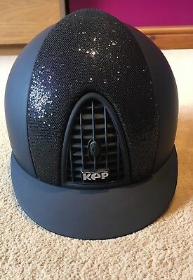 KEP Riding Hat Cromo T Glitter Front