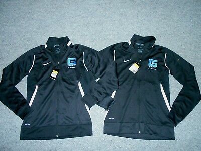 2 New! W/tags Nike Dri-Fit Womens Small Athletic Track Jackets Lot            K3