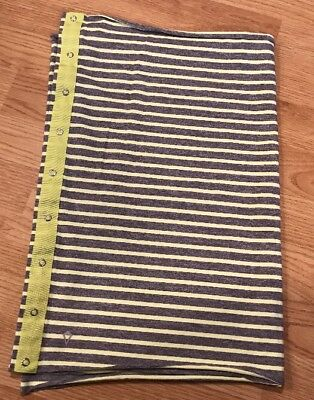 Ivivva Infinity Village Chill Neck Scarf Gray/Yellow Stripe Excellent!