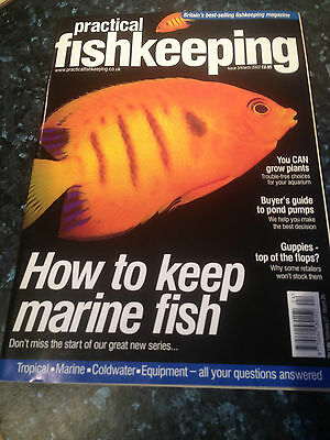 PRACTICAL FISHKEEPING MAGAZINE - March 2002Trouble free plants for your aquarium