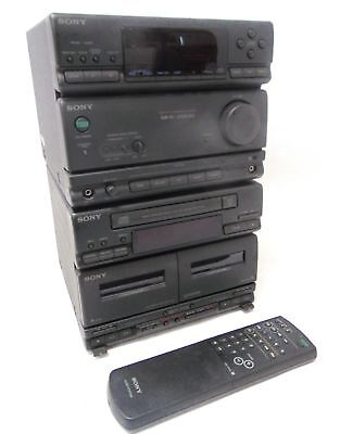 SONY MHC-2800 Mini HiFI Component Stereo System Tuner Amplifier CD Tape - G24