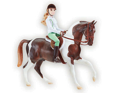 Breyer 1787 Lets go riding English  traditional size scale 1:9 Beautiful <><