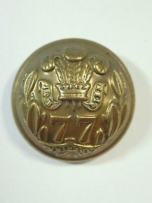 77th (East Middlesex) Foot original Large Victorian o/r's Button.