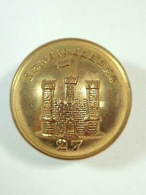 27th (Inniskilling) Foot original Victorian Officers  Large Button.