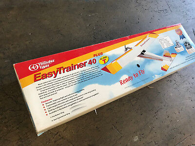 Thunder Tiger Easy Trainer 40 Plus R/C Glow Model Airplane Kit