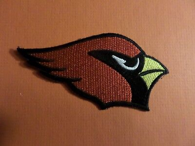ARIZONA CARDINALS nfl  Embroidered 2 x 3-7/8 Iron Or Sew On Patch