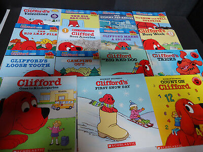 Lot of 15 CLIFFORD children's Books , Readers / (sku# 475 - 3)