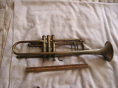 Vintage Antique Buescher True Tone trumpet  Elkhart,IN