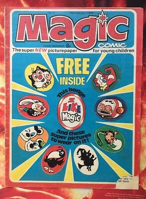 MAGIC COMIC NO. 3. 14 FEB 1976.  DOROTHY AND THE WIZARD OF OZ Puzzles Not Done