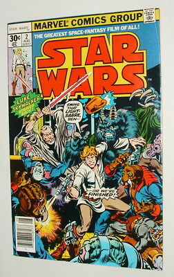 1977 Kenner Star Wars Comic Book Issue #2  Fine 6.0 Condition