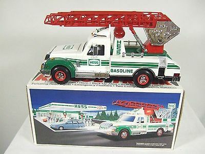 1994 Hess Rescue Truck New Mint in C9 Mint Box