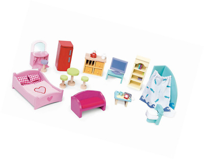 Le Toy Van Deluxe Doll's House Furniture Set