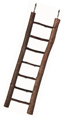 Trixie Natural Living Wooden Ladder with 7 Rungs, 30 cm,