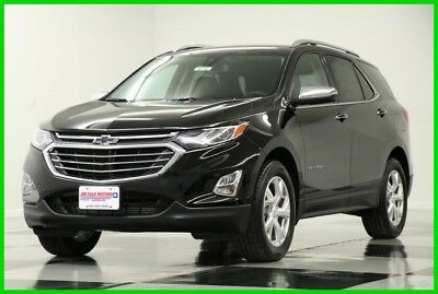 2018 Chevrolet Equinox Premier AWD Heated Leather Camera Mosaic Black SUV 2018 Premier AWD Heated Leather Camera Mosaic Black SUV New Turbo 1.5L I4 16V