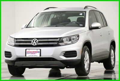 2016 Volkswagen Tiguan S 4WD  Heated Leather Camera Reflex Silver Metalli 2016 S 4WD  Heated Leather Camera Reflex Silver Metalli Used Turbo 2L I4 16V AWD