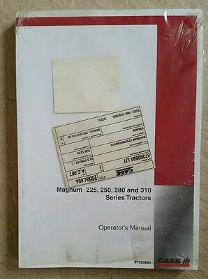 Case/ih Magnum 225 250 280 310 Tractor Operators Manual