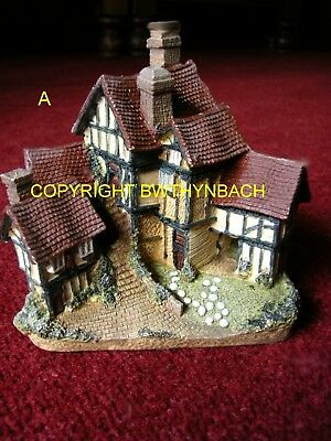 New Design Rubber Latex Mould Mold Fairy Fairie Tudor Mansion House Dwelling A