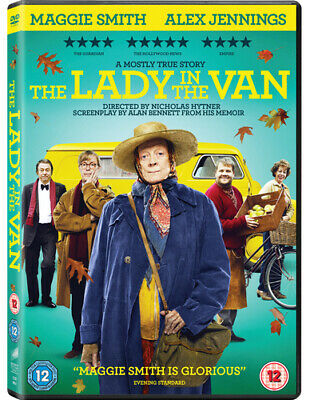 The Lady in the Van DVD (2016) Maggie Smith
