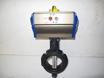 Soria Butterfly Dn 80 Valve  With Actair 6 Actuator