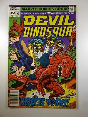 "Devil Dinosaur #4 ""Objects From The Sky!"" Beautiful VF-NM Condition!!"