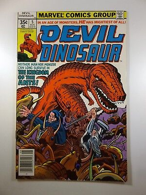 "Devil Dinosaur #5 ""The Kingdom Of The Ants!"" Beautiful VF Condition!!"