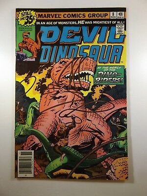 "Devil Dinosaur #8 ""Mercy of The Dino-Riders!"" Beautiful VF-NM Condition!!"